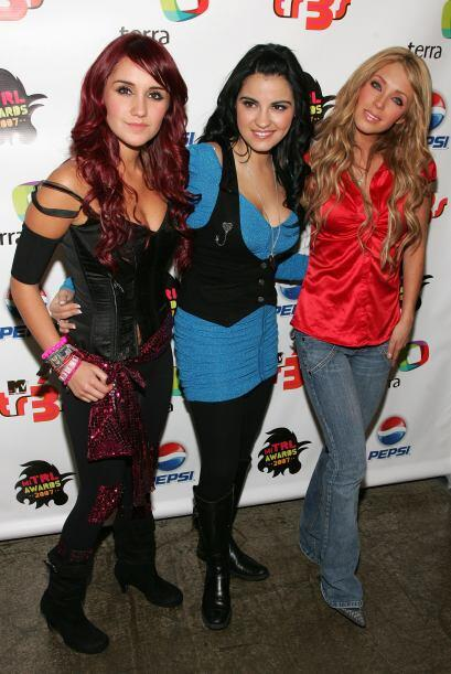 Dulce, junto a Maite Perroni y Anahí, tres bellezas que estaban en la ci...