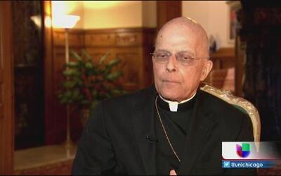 Se despide el arzobispo de Chicago
