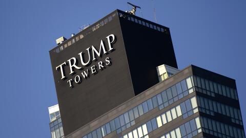 Las torres Trump en Estambul, Turquía.