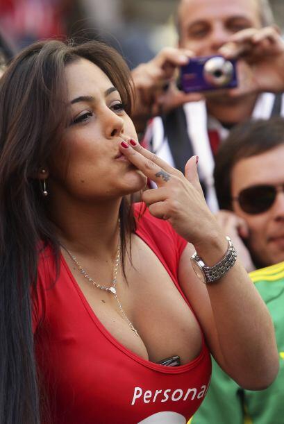 ¡Fue apodada la novia del mundial!Todos sobre el Mundial de Brasil 2014.