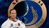 El astronauta Edgar Mitchell.