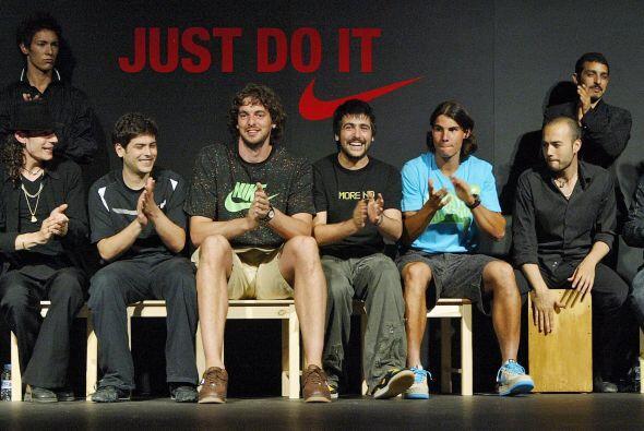 Pau Gasol es uno de los estandartes deportivos de la actualidad por lo q...