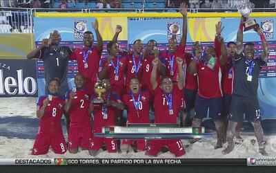 México perdió 4-2 la final del premundial de playa ante Panamá