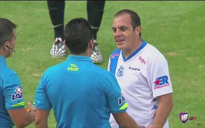 Cuauhtémoc Blanco jugó contra el América