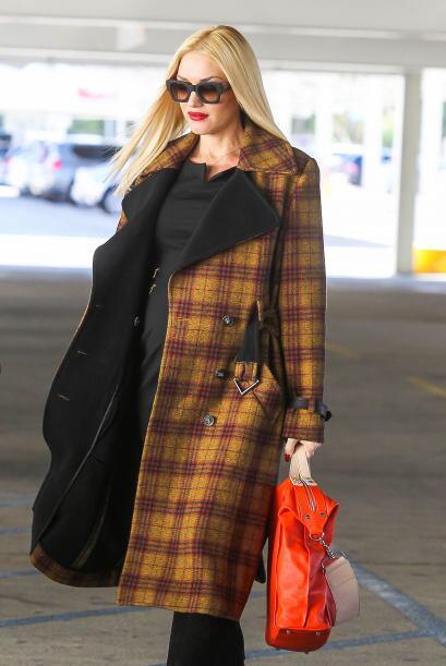 Gwen se paseó por Bloomingdales y otras tiendas de Beverly Hills.Mira aq...