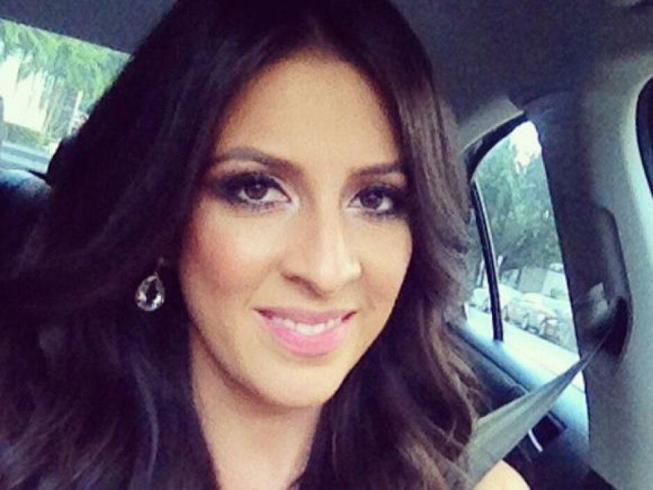 """""""De camino a #PremioLoNuestro"""", dijo Maity.  (Febrero 20, 2014)"""