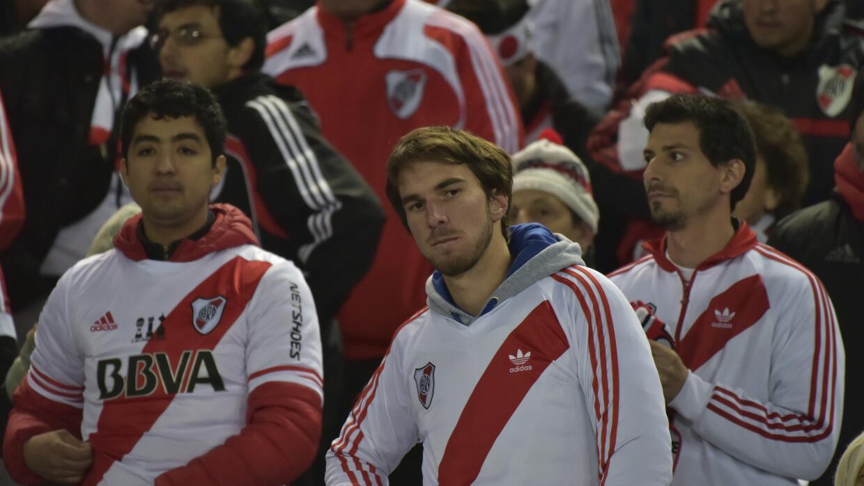 Aficionados de River Plate en el Mundial de Clubes