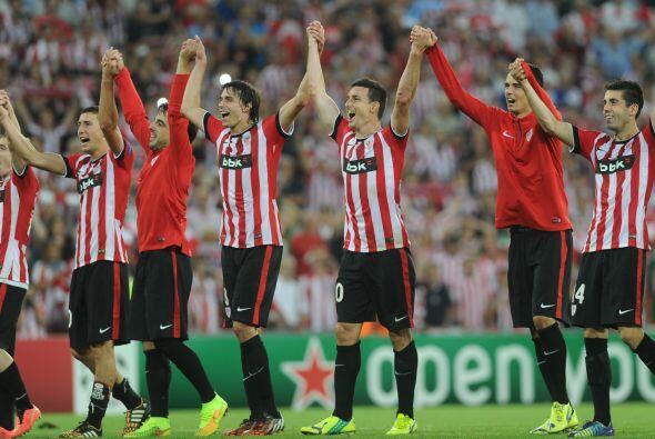 El Athletic de Bilbao (España) se metió a la fase de grupo...