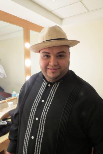 ¡Qué buen look, Ricardo!