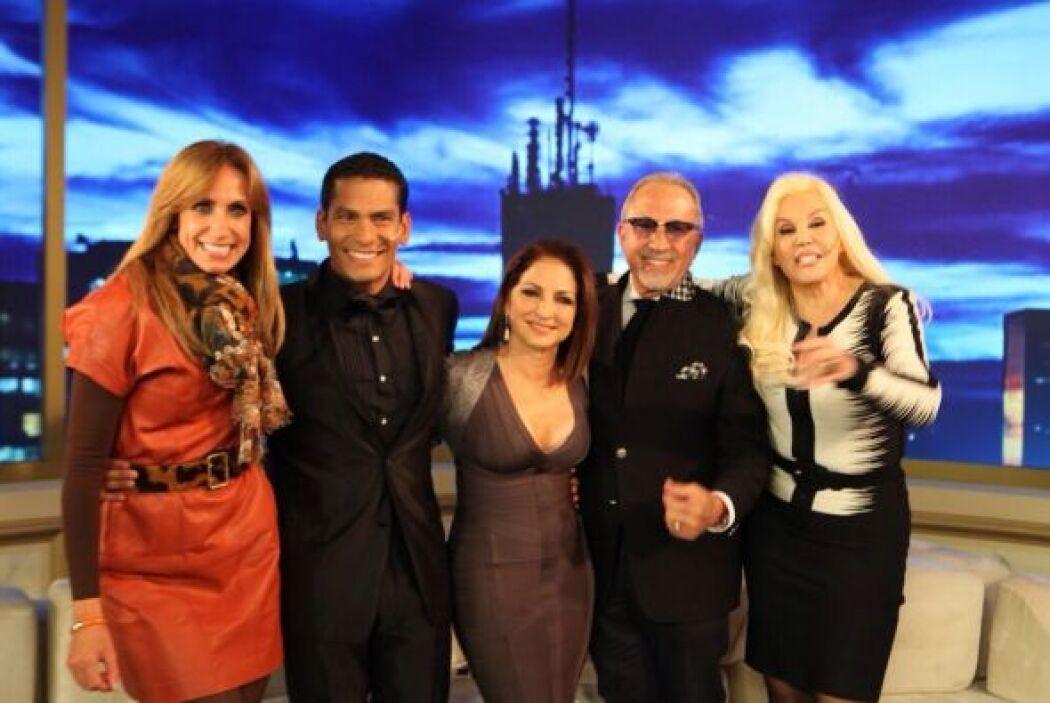 La conductora estuvo invitada en el programa de Susana Giménez, uno de l...