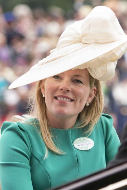 Autumn Patricia Kelly: Se casó con Peter Phillips en la Capilla de St Ge...