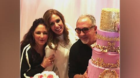 Clarissa Molina nos mostró cómo nuestra Lili Estefan ha celebrado su cum...