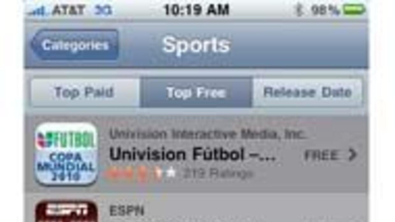 Univision Fútbol App
