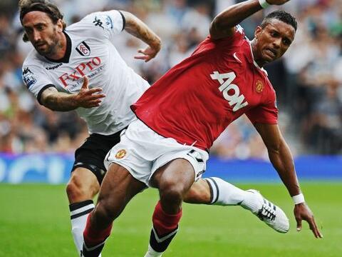 Paul Scholes ponía el 1-0. Simon Davies empataba para el Fulham,...