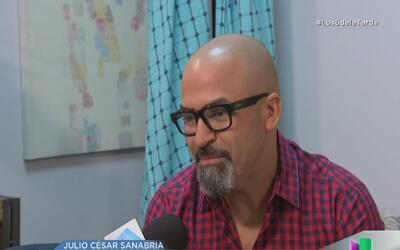 Julio César Sanabria lamenta que su padre haya muerto sin ver a sus hijo...