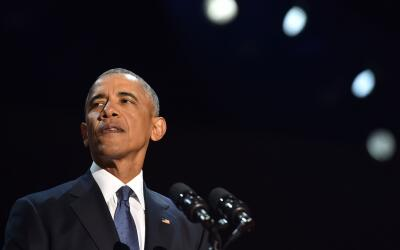 Obama advitió que la buena salud de la democracia estadounidense...