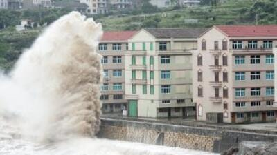 El tifón Chan-hom en China.