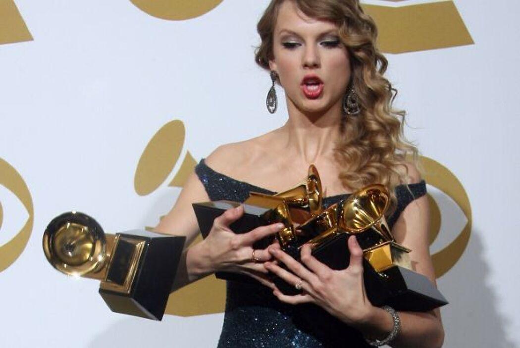 Pero eso no es todo, la cantante ganó un total de cuatro premios Grammy,...