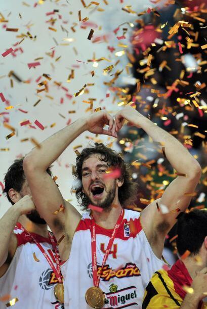 En 2009, España se llevó el Campeonato Europeo tras vencer a Serbia.