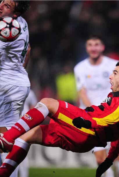 El Sevilla se llevó su primera derrota en el campo Urinea Urcizeni.
