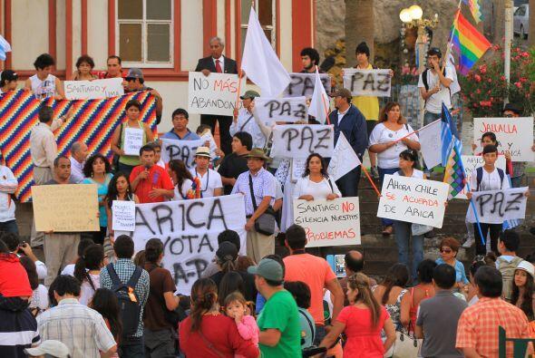 Pero los chilenos se mostraron en contra de la decisión tomada sobre el...