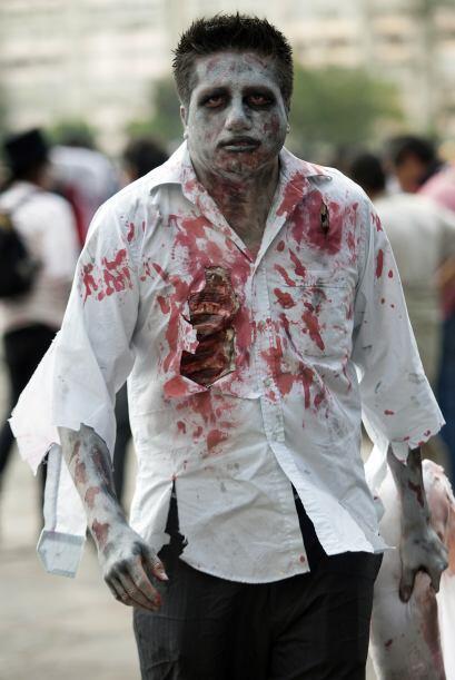 Las autoridades mexicanas custodiaron la marcha, misma que se desarrolló...