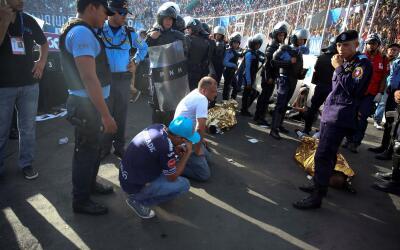 Dos de las víctimas murieron en el propio estadio; otras dos en e...