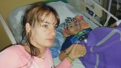 Madre cubana clama ayuda para que su pequeño, enfermo de cáncer, pueda s...