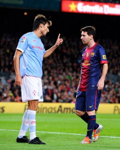 No todo lo que recibió Messi fueron felicitaciones.