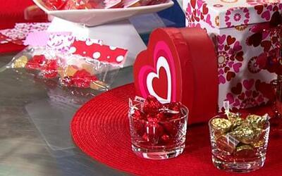 Bolsitas de dulces para el día de San Valentín