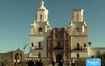 Ocho obispos caminan por el desierto de Arizona en pro de la Reforma Mig...