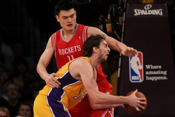 Desde su llegada, los Rockets no fueron capaces de superar la primera ro...