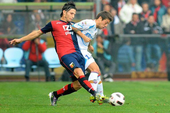 Génova tenía una gran oportunidad de puntuar en el torneo ante el Catania.