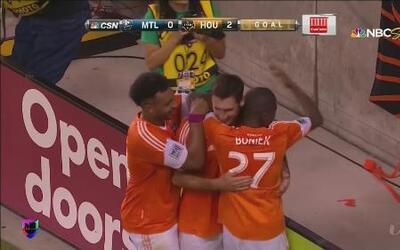 Houston Dynamo goleó 3 - 0 a Montreal Impact en la MLS