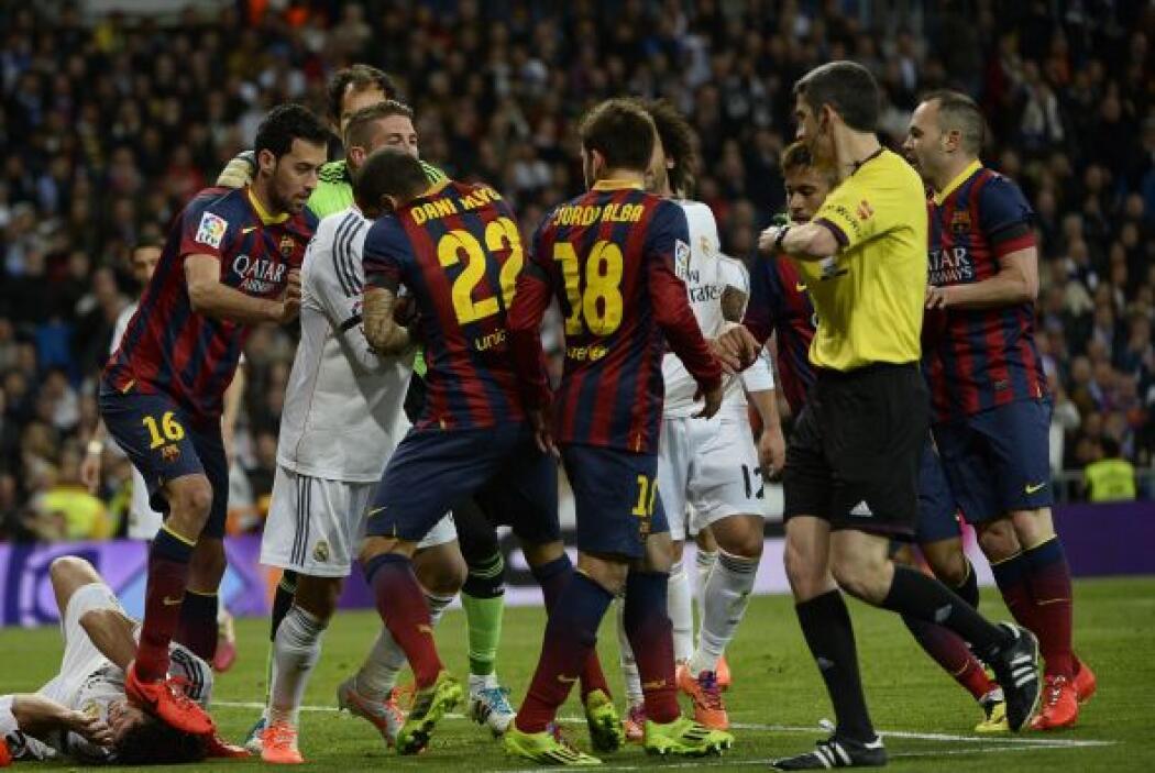 El Real Madrid y el Barcelona se medirán en la final de la Copa del Rey...