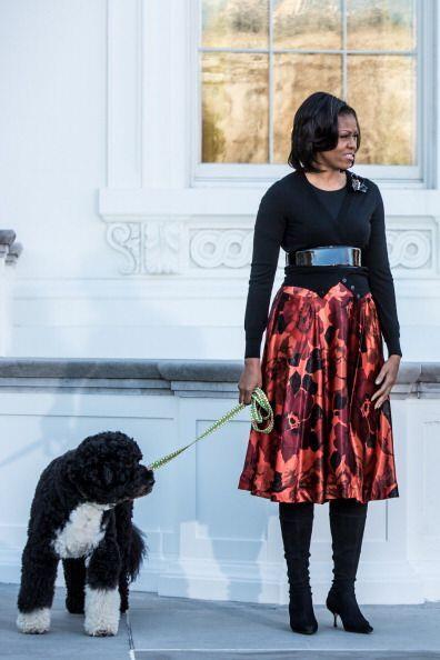 ¡Ni para pasear a su perro perro Sunny esta diva pierde el estilo!...