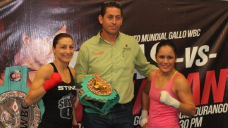 """Susie Ramadan ya está en México para enfrentar a """"Rusita"""" Rivas."""