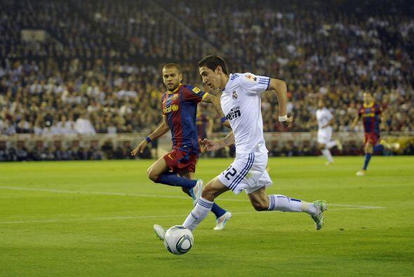 Los contragolpes del Madrid llegaron a ser más que peligrosos, pero no p...