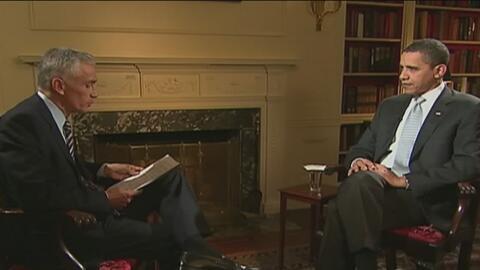 Las seis veces que Jorge Ramos habló con Barack Obama