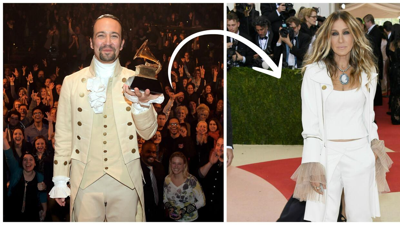 La obra 'Hamilton' inspiró a Sara Jessica Parker para crear su vestido d...