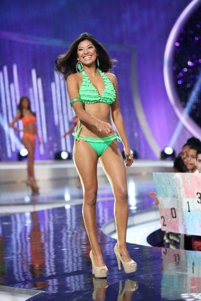 Karina Hermosillo tiene un propósito claro en la competencia.