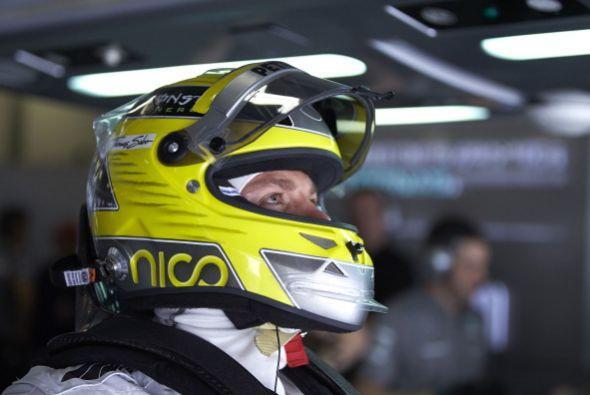 Nico Rosberg arrancará en la cuarta posición.