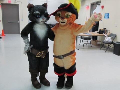Los personajes de Dreamworks llegaron a los estudios en Miami para sorpr...