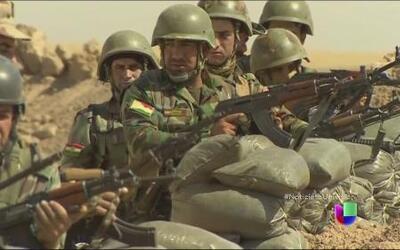 Estados Unidos envía armas a Irak para combatir al brutal grupo terroris...