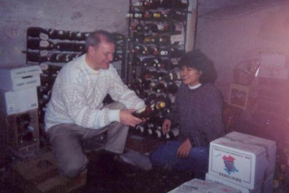 Era un experto catador de vinos, aunque sus amigos dicen que no bebía, s...