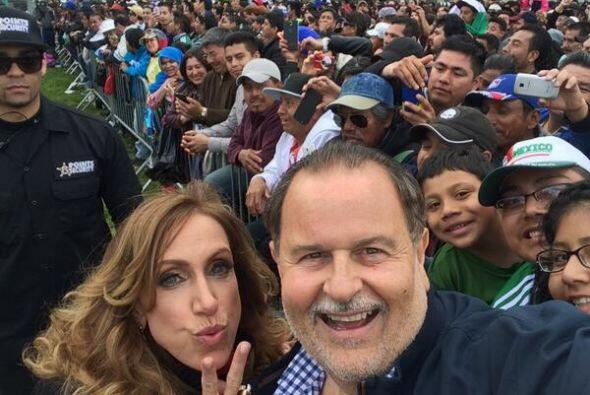 Los conductores de El Gordo y la Flaca viajaron a Nueva York para celebr...