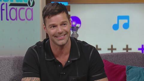 Ricky Martin se cambiará diecisiete veces de ropa en su nuevo show en La...