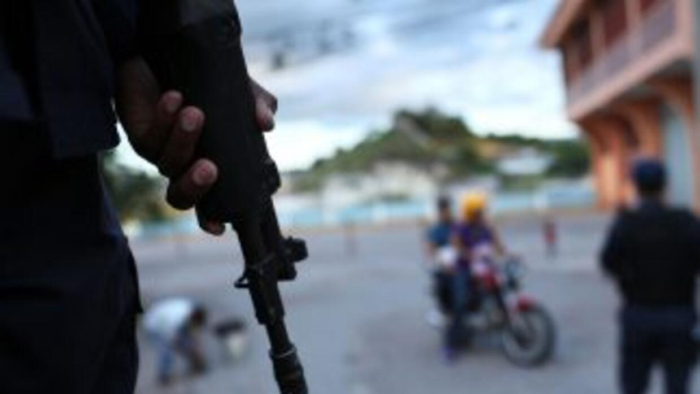 Policía de Honduras.