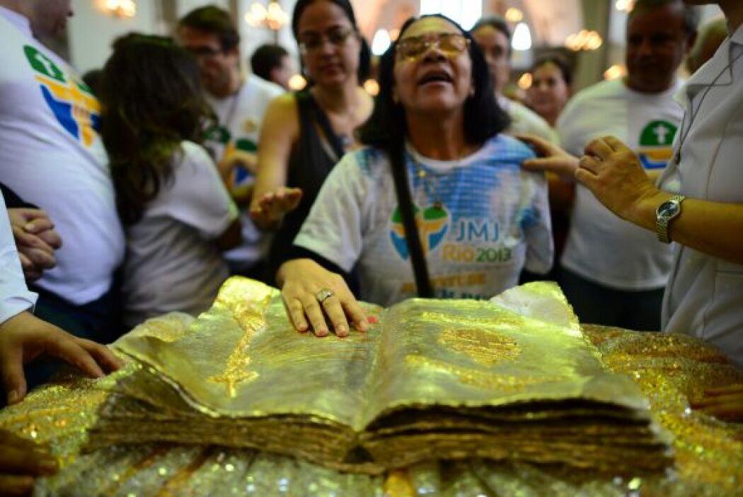 Las reliquias han peregrinado por varios países de América Latina. En Br...