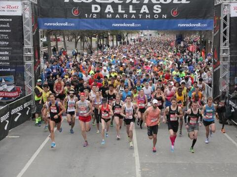 Medio Maratón en Dallas